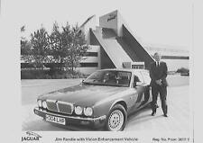"""JAGUAR valorizzazione visione """"veicolo"""" COMUNICATO STAMPA SETTEMBRE 1991 + foto"""
