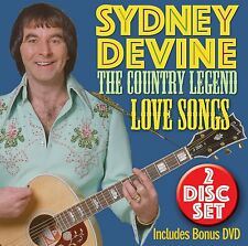 SYDNEY DEVINE 'THE COUNTRY LEGEND : LOVE SONGS' CD & DVD SET (2015)