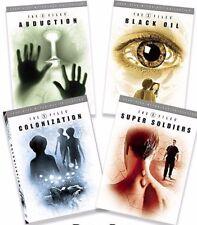 X-Files Mythology TV DVD Abduction, Black Oil, Colonization Super Soldiers NEW