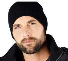 Black Beanie Baggy/Slouchy Skull Cap,Stretchable