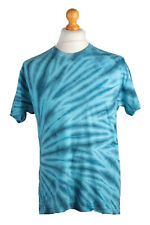 """Vintage Multicolored Rainbow Tie and Dye T-Shirt Chest Size 39"""" - TS325"""