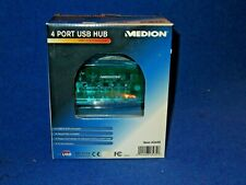 MEDION USB 4 PORT USB HUB 1- USB 1.0 & 2.0 COMPATIBLE