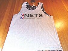 MITCHELL & NESS NBA HWC BROOKLYN NETS REVERSIBLE TECH FOUL JERSEY SIZE L