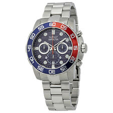 Invicta Pro Diver Chronograph Blue Dial Mens Watch 22225