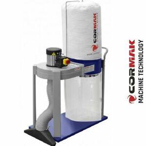 CORMAK FM230-L1 Sawdust Extractor Dust Chip Sawdust Cyclone Collector Sand Blast