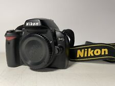 Nikon D40 6.1MP Digital SLR Camera - Black (Body Only, w/ Charger, Battery)