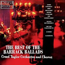 THE BEST OF THE BARRACK BALLADS - CREED TAYLOR ORCHESTRA -  CD - FREE POST IN UK