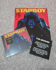 *STARBOY* The Weeknd Abel Tesfaye Signed 8x10 Card Photo w/ Sealed CD COA