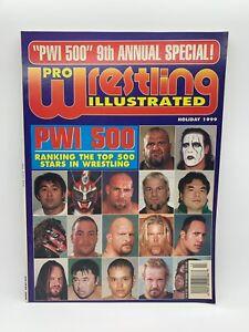 WWE Pro Wrestling Illustrated (Holiday 1999) Vintage Magazine WWF Rare PWI500