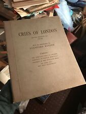 CRIES OF LONDON Francis Wheatley (16 Large Colour Plates) STREET TRADERS Sellers