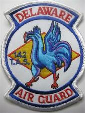 U.S. Air Force 142nd Tactical Airlift Squadron Delaware Air Guard patch Usaf
