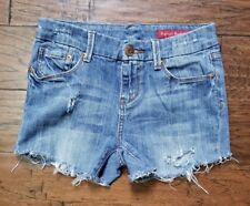 Seven7 distressed cutoff jean shorts size 6 (Inventory w19)