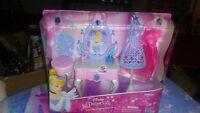 Disney Princess Cinderella's Enchanted Vanity Barbie furniture Chair table dress