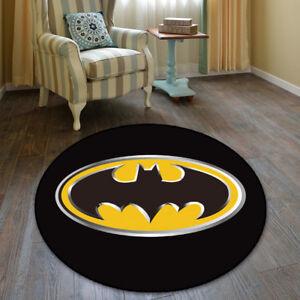 Batman DC Comics Cool Velboa Floor Rug Carpet Room Doormat Non-slip Chair Mat 29