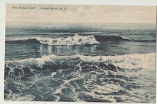 B&W Photo PC Rolling Surf Ocean Beach Fire Island NY 1950 Ocean Beach Dept Store
