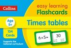 Times Tables Flashcards: Ideal for Home Learning (Collins Easy Learning KS2), Co