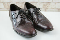 Bally Leather Brogue Shoes size 9.5