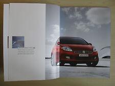 Fiat Bravo UK Sales Brochure / Pack  (2007)