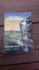 VTG CONCORD RADIO CATALOG 4-46 1946 #1