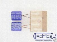 15 Nichicon BT 35V 220UF Highly dependable reliability High Temp 125c Capacitor