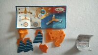 Kinder go move trottola arancione UN 039 con cartina