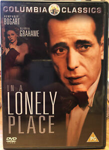 In A Lonely Place 1950 Rare Deleted Classic Thriller Humphrey Bogart DVD