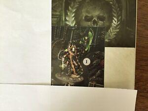 Indomitus Necron Overlord Warhammer 40,000 GW