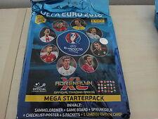 Adrenalyn XL EM EURO 2016 Mega Starterpack (Panini Sammelmappe)