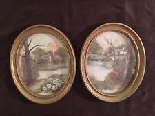 Pair Of Vintage F Nassa Framed Prints