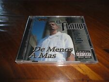 Chicano Rap CD EL FLAKO - De Menos A Mas - C-4 DYABLO Stranger Mr. Pelon Demonio