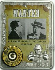 2015 1 Oz Silver Al Capone Coin,Embed 38 Special With Real Gun Capsule.