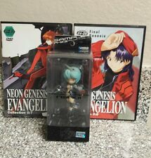 Neon Genesis Evangelion Rei Japan figure w/ 2 dvd's from the series