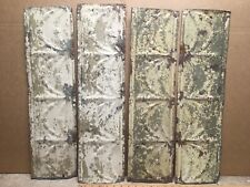 ANTIQUE ARCHITECTURAL SALVAGED CEILING TINS //EARLEY 1900/'S//42 x 16 INCHES