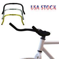 Alloy Bullhorn HandleBars For Fixie Fixed Gear Single Speed Road Bike Cycling US