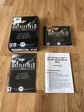 Battlefield 1942 Secret Weapons WWII PC CD Game In Box