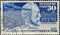 BRD 1949 75 J Weltpostverein Stephan Mi.Nr: 116 gestempelt