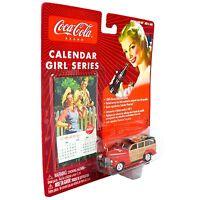 Coca-Cola Diecast Car 1/64 Mercury Special Woody Wagon Coke Johnny Lightning