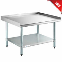 "30"" x 36"" Stainless Steel Table Commercial Mixer Grill Heavy Equipment Stand"