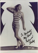 ELANOR HOLM Hand Signed 5x7 Photo - 1932 Olympic Swimmer - Free S/H in the US