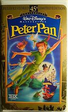 Walt Disney VHS - Peter Pan - New!! In original factory sealed packaging!