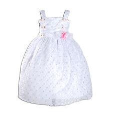 NUEVO niña vestido de fiesta con flores en Rosa Blanco Amarillo de 9-12 Meses A