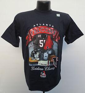 ATLANTA FALCONS VINTAGE RIDDELL CLASSICS GRIDIRON SHIRT YOUTH LARGE (14-16) NFL