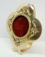 BRASS RELIQUARY WITH HANDLE FOR YOUR RELIC - VENERATION - 345 - (CHURCH, SAINT)