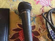 Shure PE15H High Impedance Mic Microphone With Bag, Clip And XLR Cable