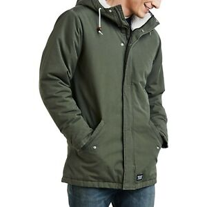 BNWT LEVI'S THERMORE 60S MOD PADDED PARKA (OLIVE NIGHT) Size Large RRP £119