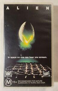 Alien VHS 1979 Sci-Fi/Horror Ridley Scott Sigourney Weaver 1992 20th Century Fox