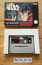 Super Nintendo SNES Super Star Wars PAL