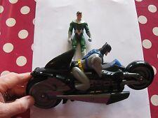 BATMAN figura su moto e Robin Figura