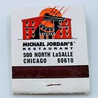 Michael Jordan's Restaurant MJ's Fast Break Bar & Grill Match Book Chicago Bulls