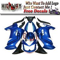 ABS Fairings For Kawasaki ER-6F Ninja650 2006-2007 ABS Plastic Bodywork Kit Blue